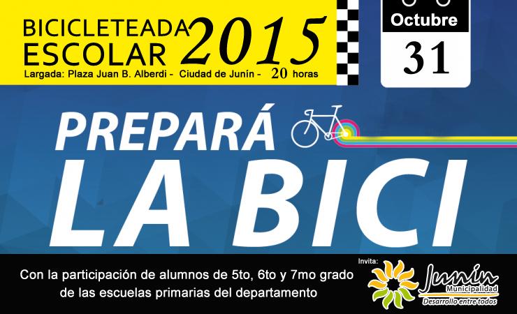 Bicicleteada Escolar 2015