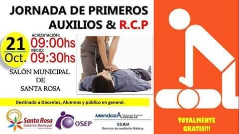 Curso de Primeros Auxilios y R.C.P. en Santa Rosa