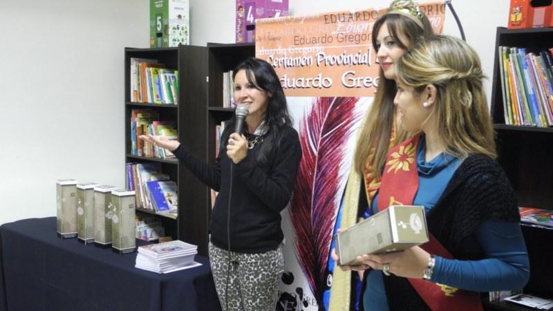 Ganadores del Certamen Literario Eduardo Gregorio