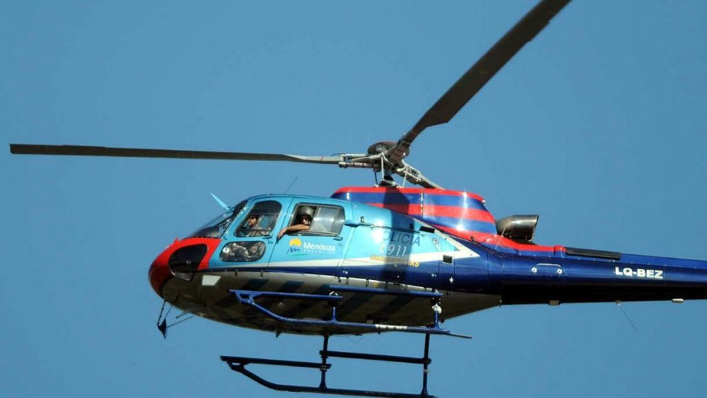 Helicoptero Policia de Mendoza